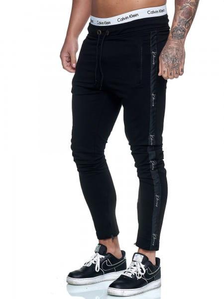 Koburas Herren Jogging Hose Jogger Streetwear Sporthose Fitness Clubwear KO-13105-JG