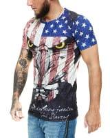 Herren T-Shirt Kurzarm Rundhals Toretto Premium Modell 1477
