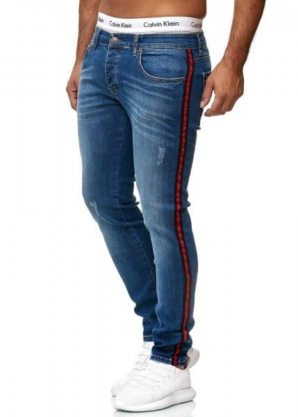 Heren Jeans Broek Slim Fit Heren Mager Denim Designer Jeans 611c