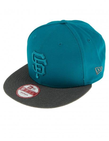 New Era 9FIFTY Baseballcap Cap Mütze Cappy San Francisco Giants Turquoise Grey