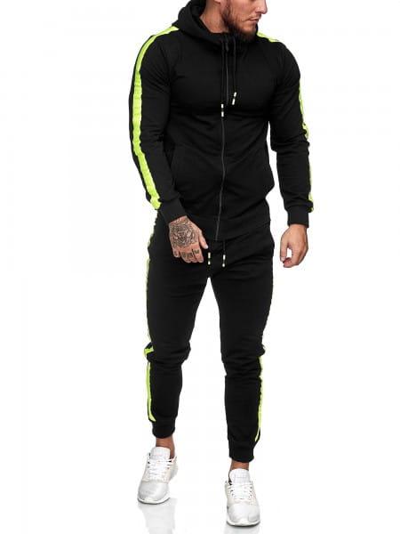 Heren trainingspak trainingspak fitness streetwear 1062cn