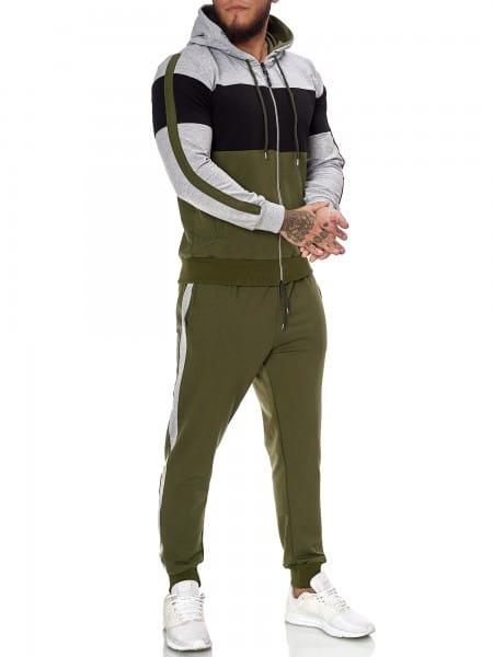 Heren joggingpak trainingspak sportkleding fitness streetwear JG-1082