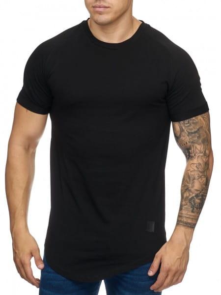 OneRedox Chemise pour homme Sweat à capuche à manches longues Sweat à manches courtes Sweatshirt T-Shirt 9010