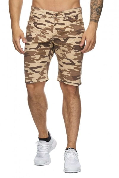 Herren Bermudashorts Kurze Hose Bermudas Shorts Männer 4037C