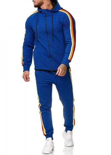 Herren Jogginganzug Trainingsanzug Sportanzug Fitness Streetwear 1244C