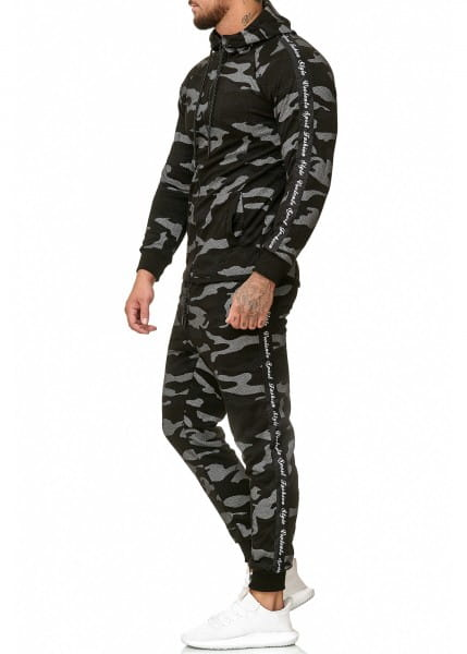 Herren Jogginganzug Trainingsanzug Sportanzug Fitness Streetwear 1011C