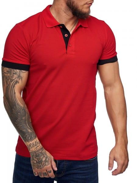 Heren T-Shirt Poloshirt Korte mouw Printshirt Polo Korte mouw 1402c1