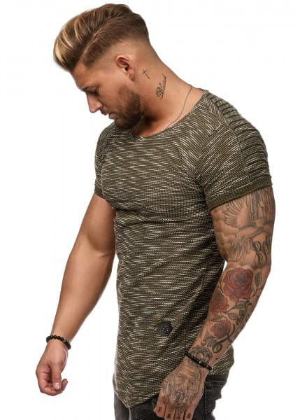 Herren T-Shirt Kurzarm Rundhals Oversize Tee Modell 1496
