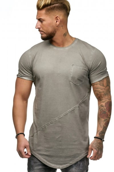 Herren T-Shirt Poloshirt Shirt Kurzarm Printshirt Polo Kurzarm 9032C