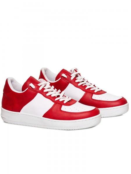 OneRedox Herren Sneaker Freizeitschuh Straßenschuh Laufschuh Casual Lederoptik Modell SH-1001C