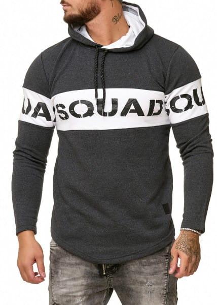 OneRedox Sweatshirt homme Sweat à capuche Sweater à capuche Pull à capuche modèle 1229