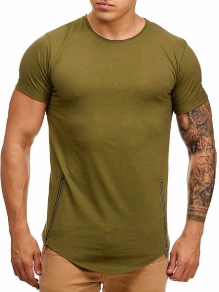 OneRedox Chemise pour homme Sweat à capuche à manches longues Chemise à manches courtes Sweatshirt T-Shirt 9060