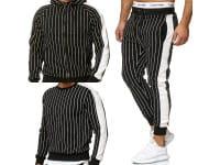 Heren trainingspak trainingspak fitness streetwear a11-14c