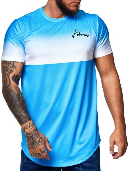 Koburas Herren T-Shirt Kurzarm Rundhals Shortsleeve Trikot Modell 2172