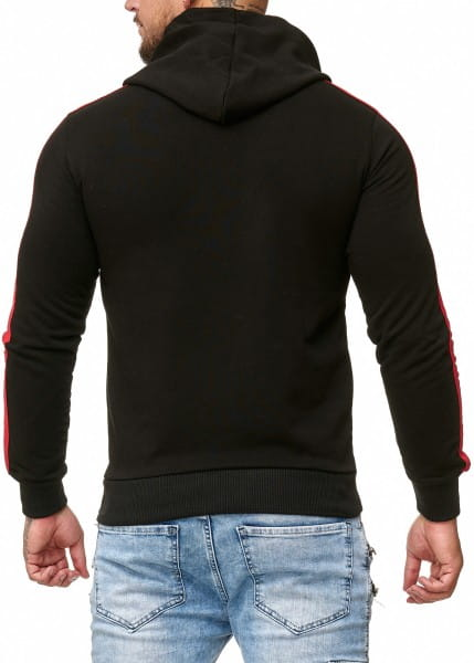 OneRedox Sweatshirt homme Sweat à capuche Sweater à capuche Pull à capuche modèle 12 212