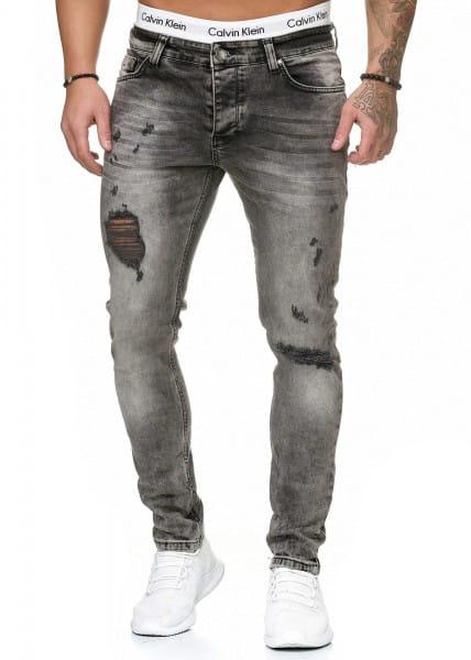 Herren Jeans Hose Slim Fit Männer Skinny Denim Designerjeans 5097C