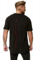 Heren T-Shirt Polo Shirt Shortsleeve Printshirt Polo Korte mouw kok03