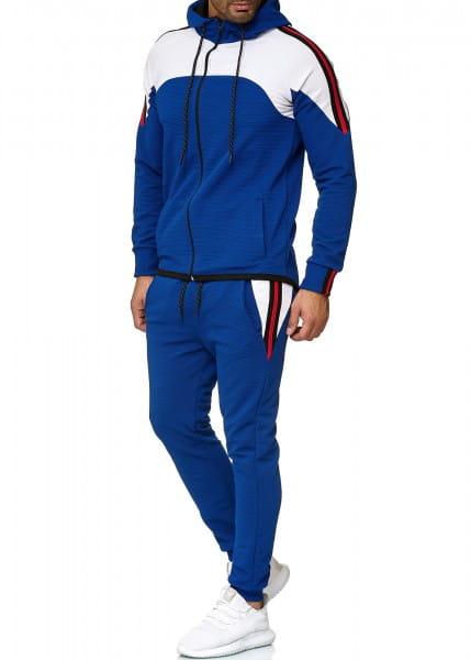 Herren Jogginganzug Trainingsanzug Sportanzug Fitness Streetwear 1148C