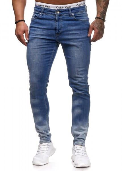 Herren Jeans Hose Slim Fit Männer Skinny Denim Designerjeans 5115C