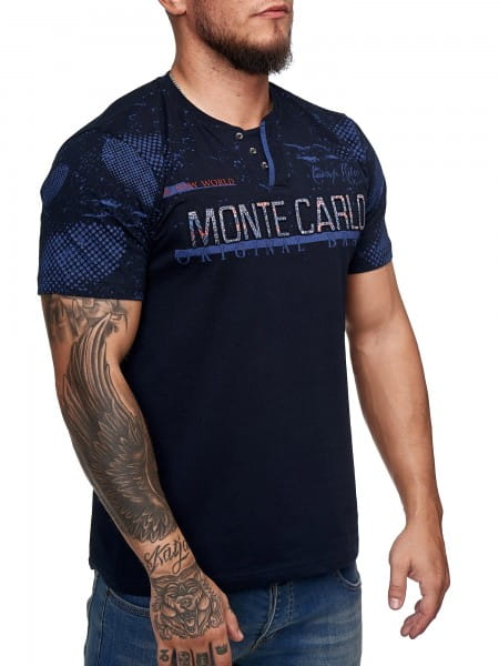 Heren T-Shirt Polo Shirt Korte mouw Printshirt Polo Korte mouw 3ds2