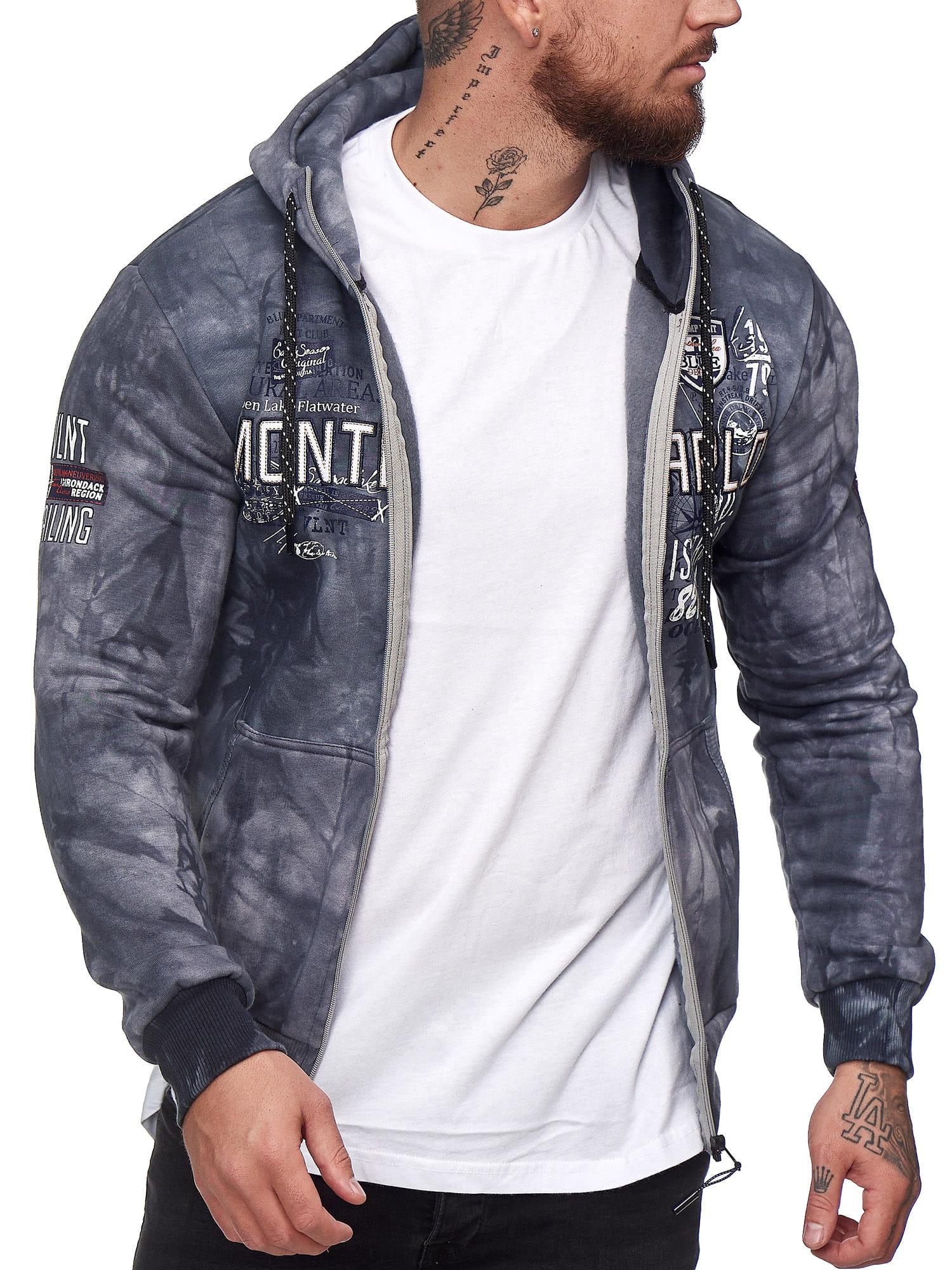 OneRedox Herren Pullover Sweatshirt Longsleeve Langarm Hoodie Modell H-706