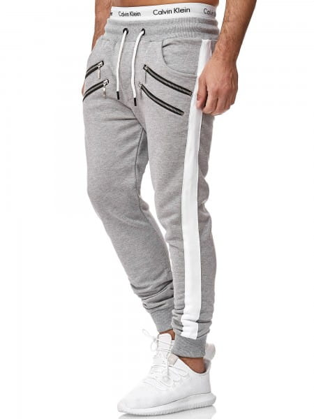 OneRedox Pantalon de jogging pour hommes Pantalon de jogging Streetwear Sports Pants Modèle 13 313