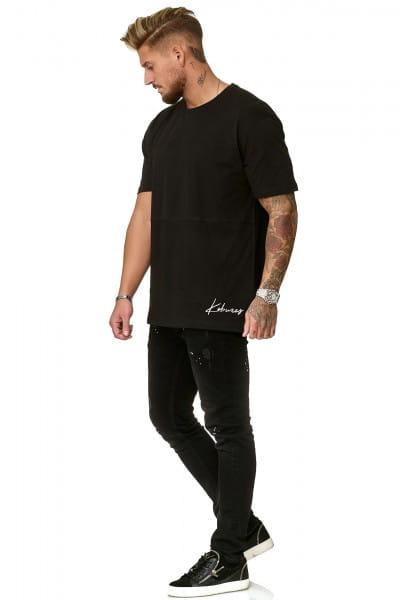 Heren T-Shirt Polo Shirt Shortsleeve Printshirt Polo Korte mouw kok02