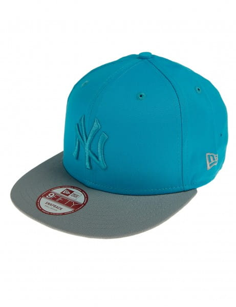 Casquette de baseball New Era 9fifty Casquette Cappy New York Yankees Gris Turquoise Turquoise