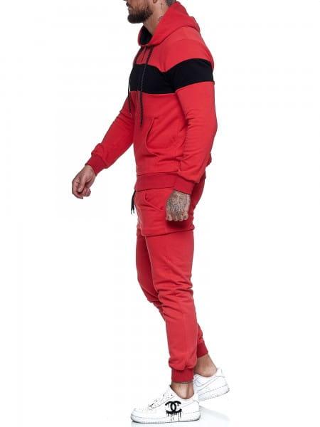 Heren trainingspak trainingspak fitness streetwear jg-1268-st