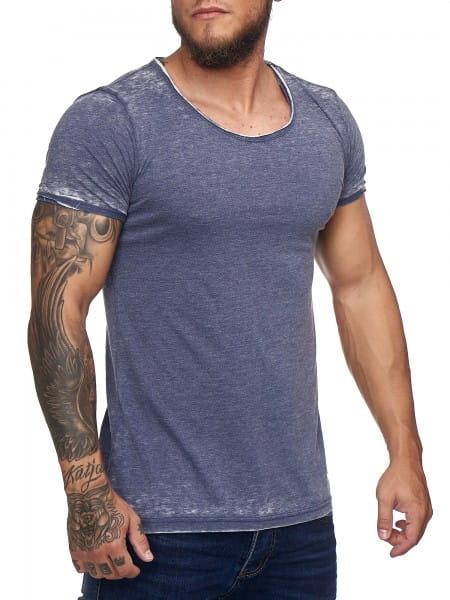 Heren T-Shirt Polo Shirt Shortsleeve Printshirt Polo Korte mouw kodi1378c