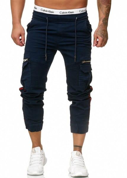 Herren Chino Hose Jeans Designer Chinohose Slim Fit Männer Skinny 3299C