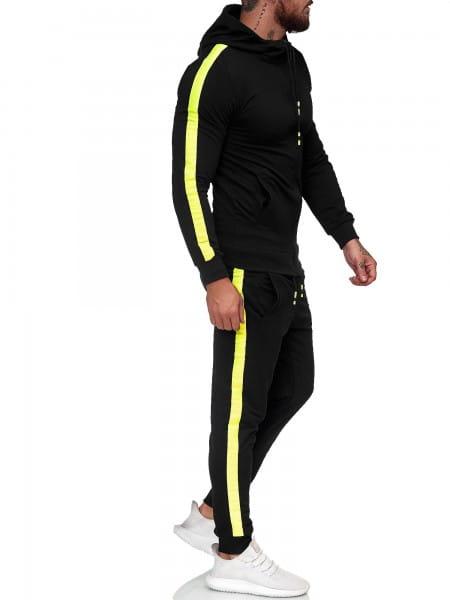 Heren trainingspak trainingspak fitness streetwear 2601st