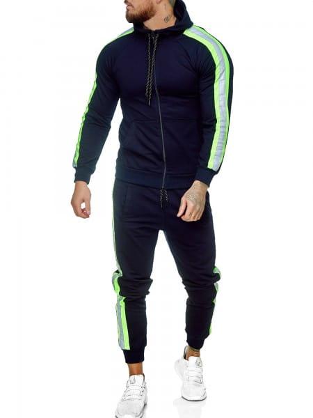 Survêtement de jogging pour hommes Survêtement de sport Survêtement de sport Streetwear jg-1084