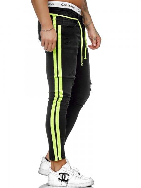 Pantalon en jean pour hommes Pantalon slim pour hommes Jeans skinny ko1008-sg-st