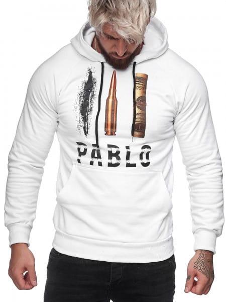 OneRedox Sweatshirt pour hommes Sweatshirt manches longues à capuche manches longues à manches longues Modèle h-1080