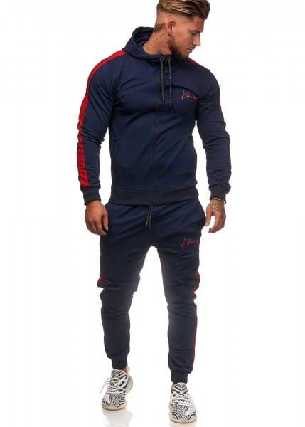 Heren trainingspak trainingspak fitness streetwear ko3392