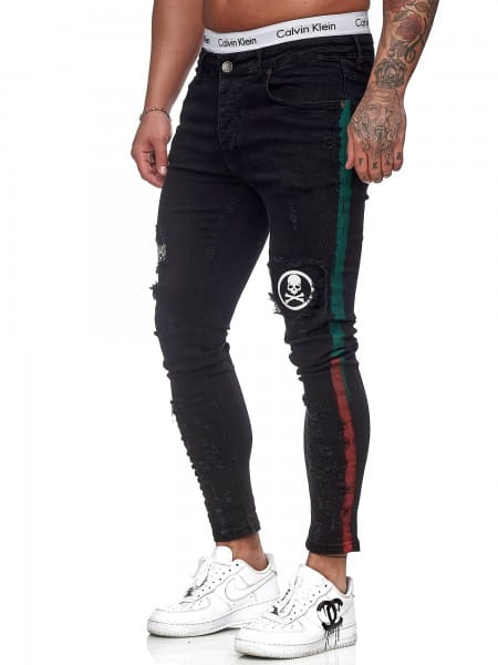Heren Jeans Broek Slim Fit Heren Mager Denim Designer Jeans j-8006