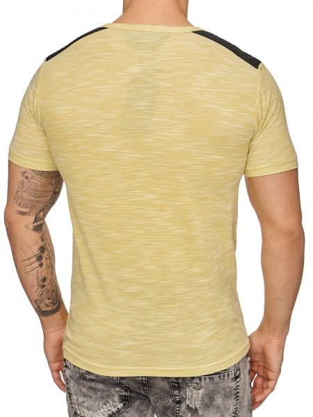 Heren T-Shirt Polo Shirt Korte mouw Printshirt Polo Korte mouw 2933c