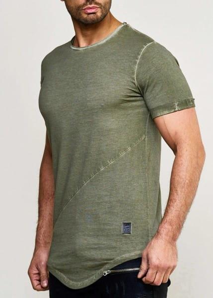 Herren T-Shirt Poloshirt Shirt Kurzarm Printshirt Polo Kurzarm 9042C