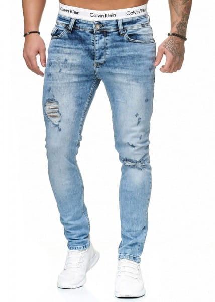 Herren Jeans Hose Slim Fit Männer Skinny Denim Designerjeans 5096C