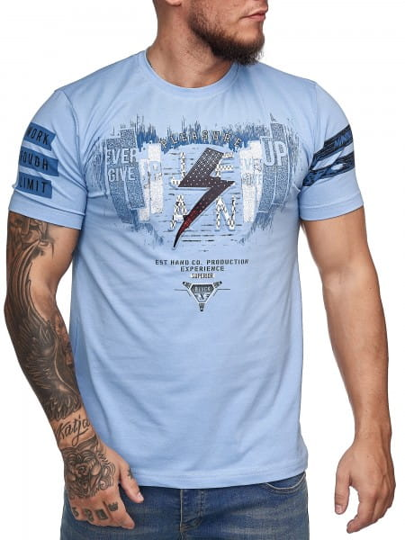 T-Shirt homme Polo Chemise Polo Manches Courtes Printshirt Polo Manches Courtes 3ds3