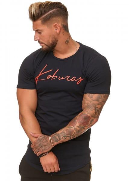 T-shirt pour hommes Polo à manches courtes Polo imprimé à manches courtes ko3390