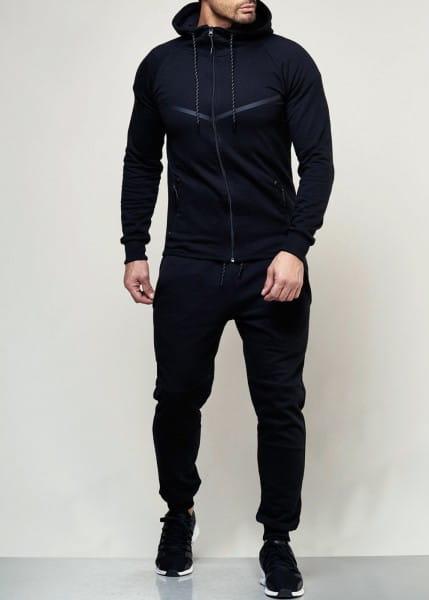OneRedox Costume de jogging pour homme en costume de sport modèle 976